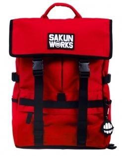 Sakun B-SAKUN WORKS BACKPACK1.0(RED)