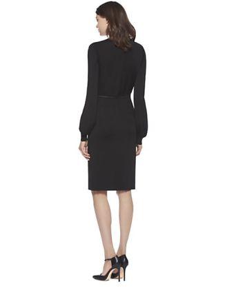 243-gucci-women-s-black-stretch-v-neck-dress-2